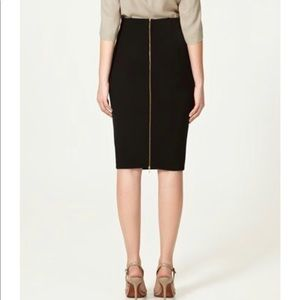 Zara Woman Full Back Zip Pencil Skirt